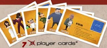 Player cards. Photo Credit: Word Domination Kickstarter camapign
