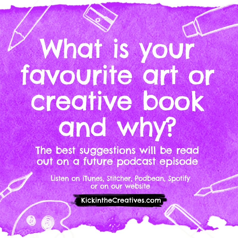 What is your favourite art or creative book?