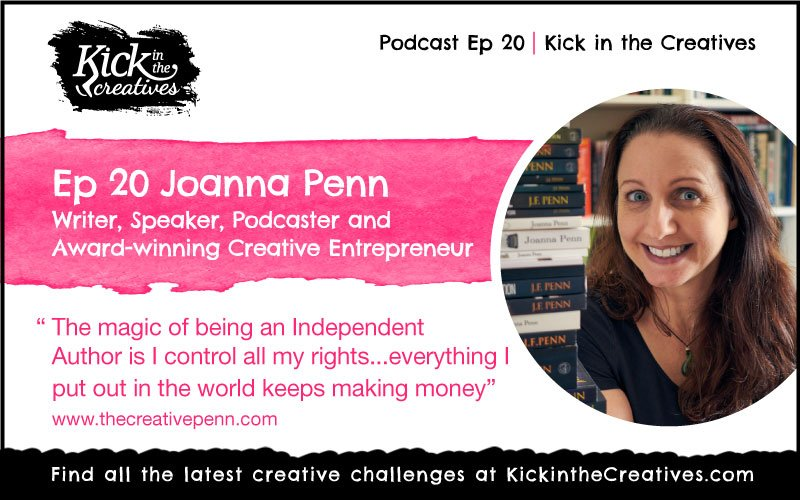 Joanna Penn The Creative Penn - Writer, Author, Podcaster, Creative Entrepreneur