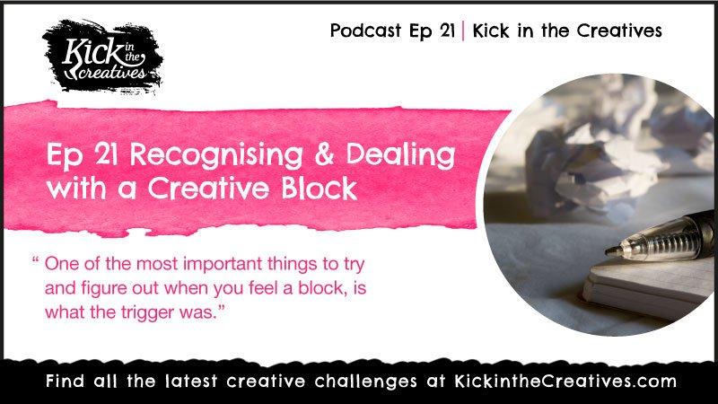 Ep 21 Art Podcast Creative Block