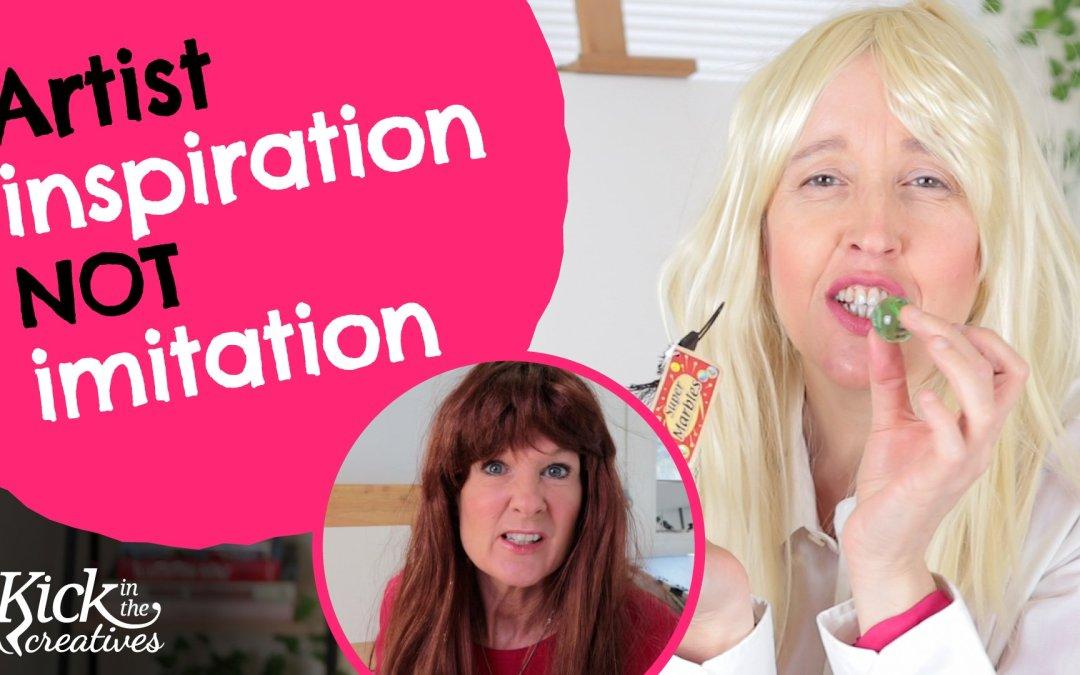 Artist Inspiration not Imitation – Art Kick Sunday