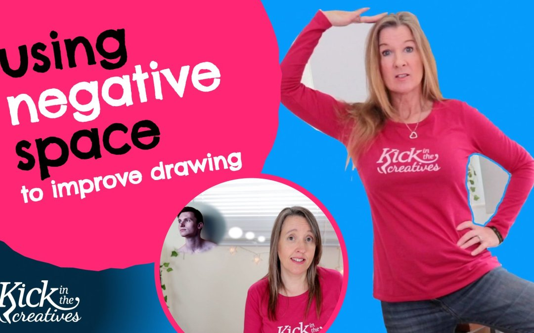 Negative Space Drawing Tutorial – Art Kick Sunday