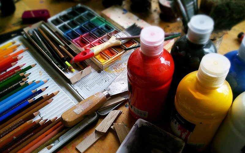 which art materials will you like when you start drawing