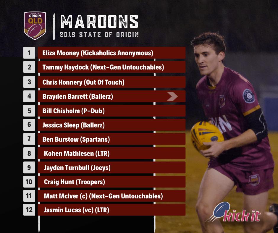 2019 Queensland Maroons