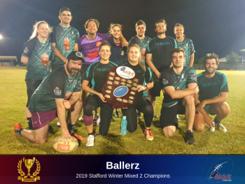 Ballerz. 2019 Stafford Winter. Too Out Of Touch.