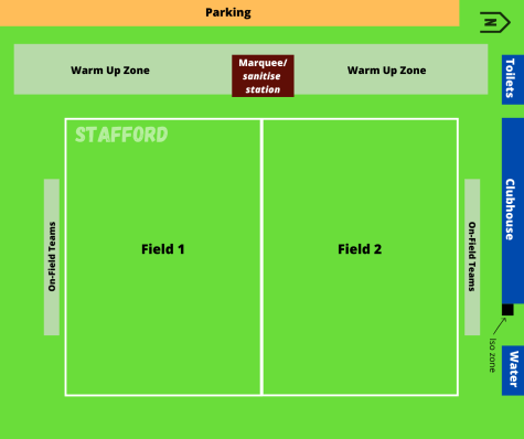 Stafford Field Map - COVID Safe Plan Kickit Touch Football. Season Info