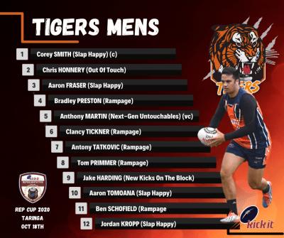 Tigers Mens - Rep 2020