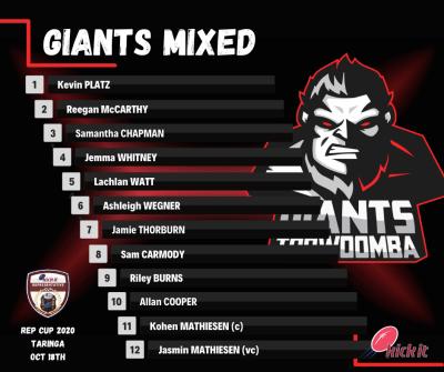 Giants Mixed - Rep 2020