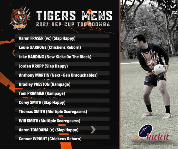 Brisbane Rep Tigers Mens Team