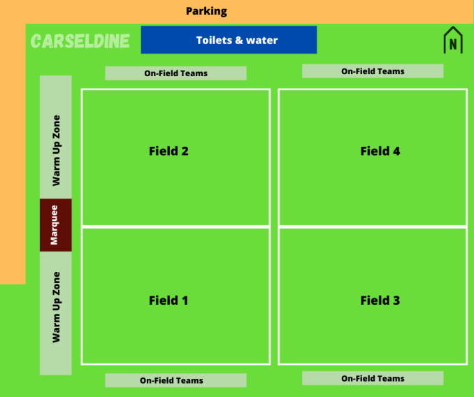 Carseldine Field Map