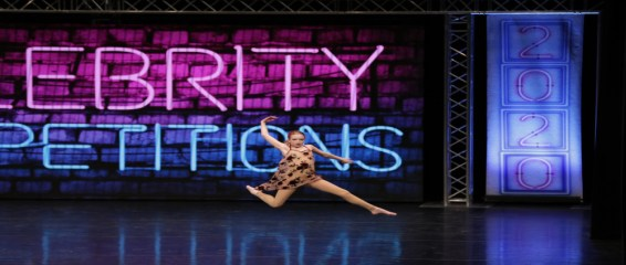Madelyn at Celebrity Dance competition