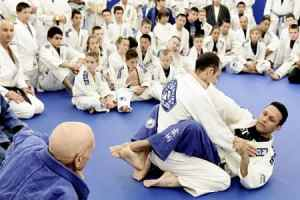 BJJ training