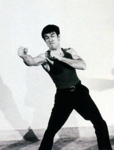 Bruce Lee speed training