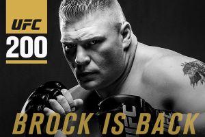 UFC 200 brock lesnar