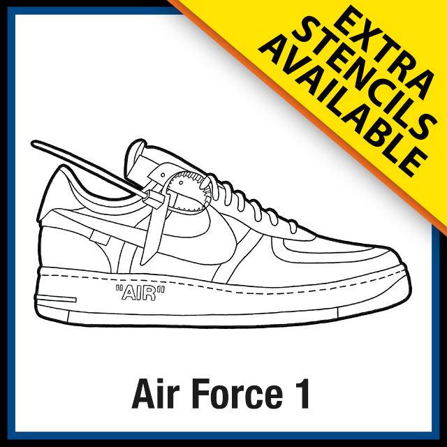 Nike Air Force 1 Off White - KicksArt