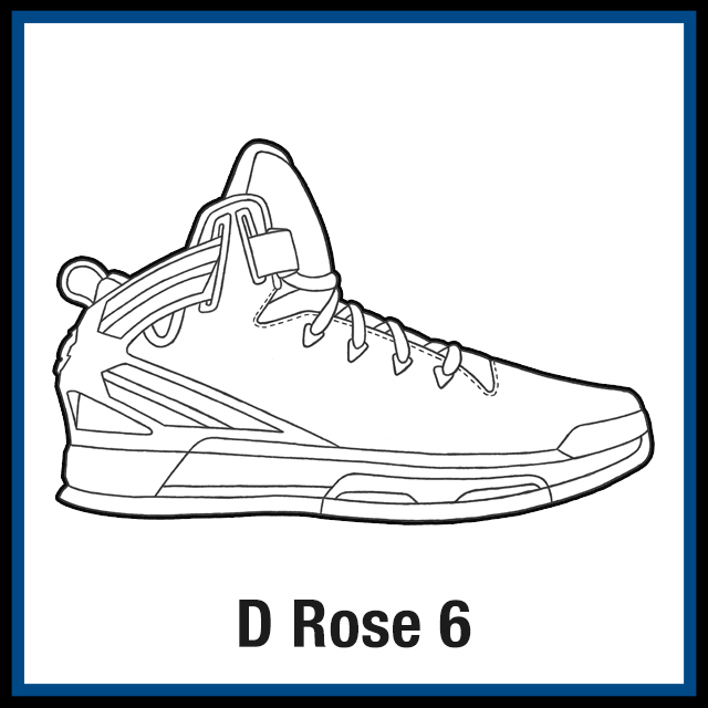 adidas d rose 6 fit