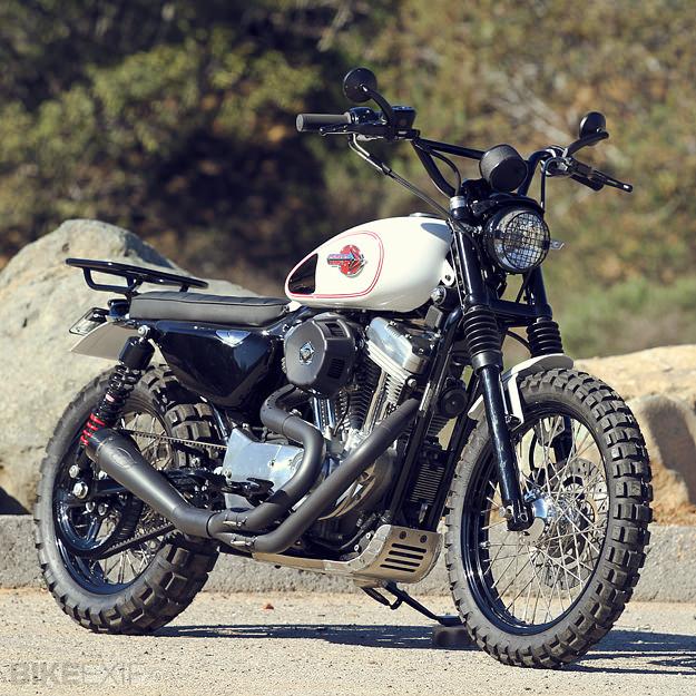 Burly Brand S Harley Scrambler