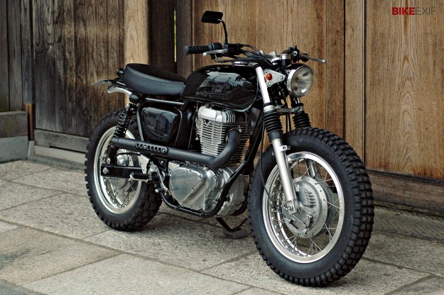 Scrambler Motorcycle By Sdtractor