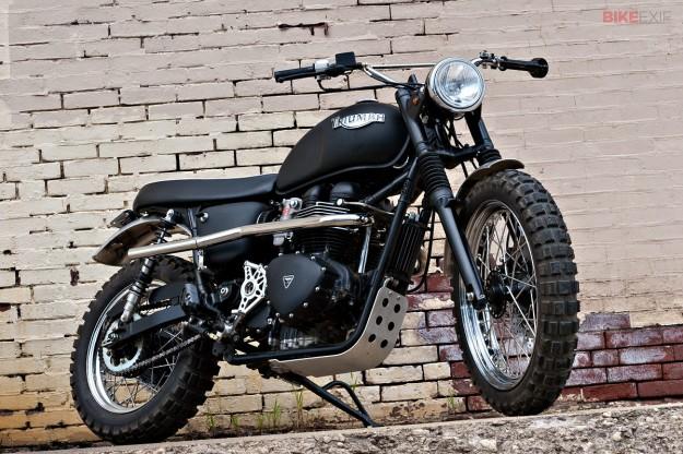 Scrambler Motorcycle Jack Pine