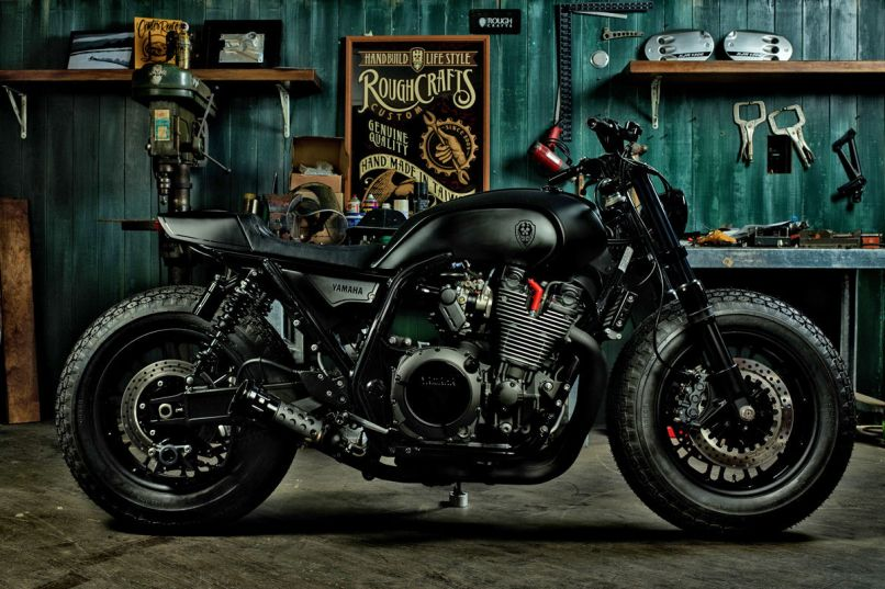 Guerilla Four An Xjr 1300 From Rough Crafts