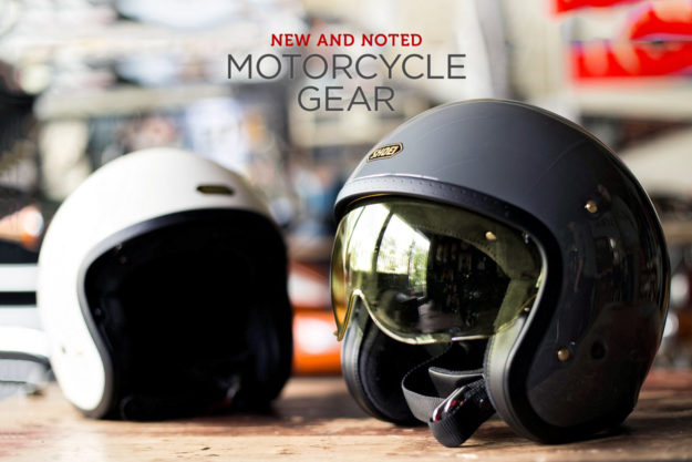 bfc1dd7bba0 NEW AND NOTED  MOTORCYCLE GEAR. New motorcycle gear recommended by Bike EXIF .