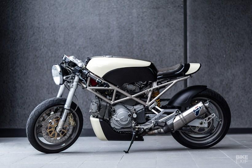 Ducati Monster Cafe Racer Tank Kayamotorco
