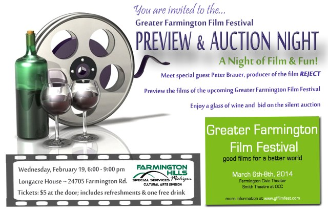GFFF Preview and Auction