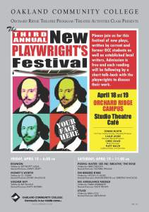 3rd Annual New Playwright's Festival
