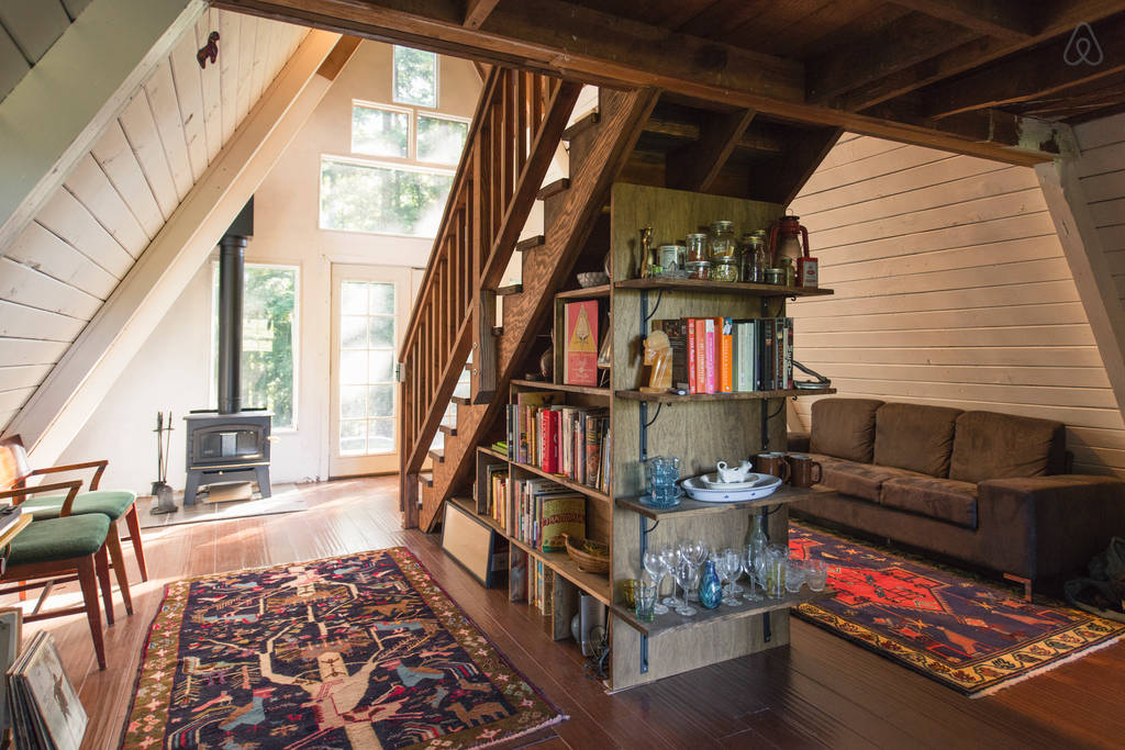 This Tiny House Looks Like Only Roof, But Inside? WHOA