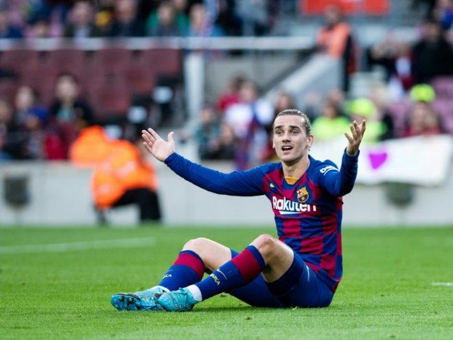 Antoine griezmann total bermain selama 40 menit (termasuk di waktu tambahan) bagi atletico madrid di san siro. Späte Niederlage gegen Atletico: Barca verpasst Supercopa ...
