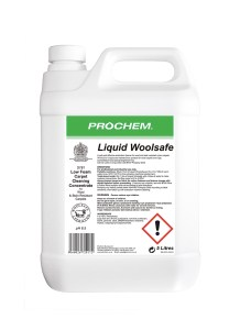 Prochem Liquid Woolsafe is a safe and effective extraction cleaner for wool and stain resistant Nylon carpets. Woolsafe approved maintenance product for wool carpets and rugs.