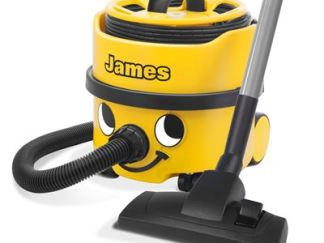 james small yellow vacuum cleaner