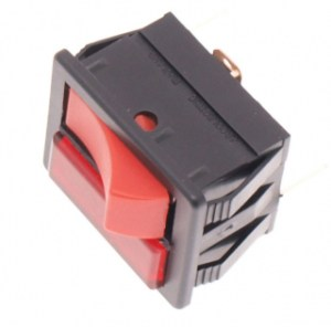 Twin speed red control switch for numatic henry hvr