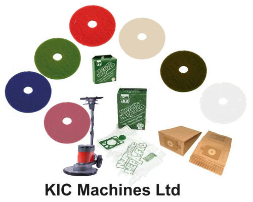 vacuum bags and buffing pads and brushesfor floor cleaners