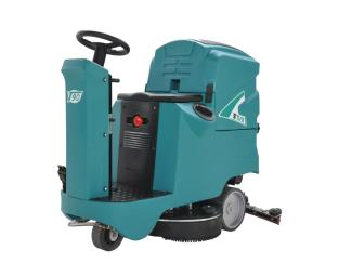 TVX T-90 70R Ride On Scrubber Dryer