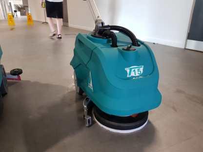 TVX T15 Walk-Behind Scrubber Dryer Machine