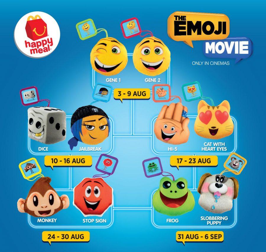 the emoji movie-2017-mcdonalds-happy-meal-toys