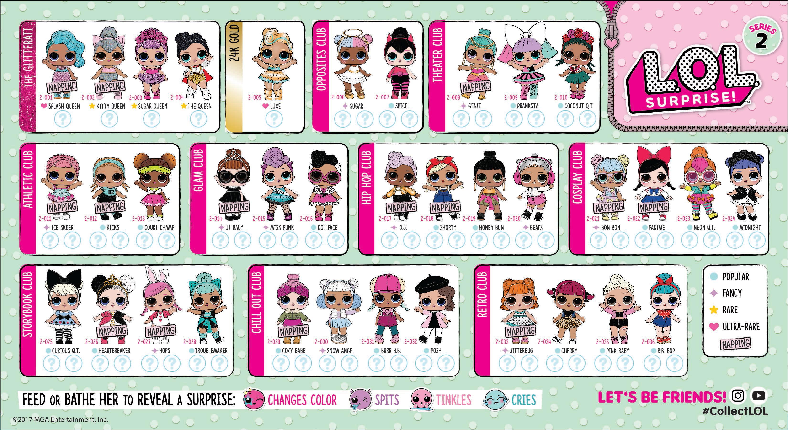 click here for full size lol surprise doll series 2 storybook dolls history storybook dolls worth