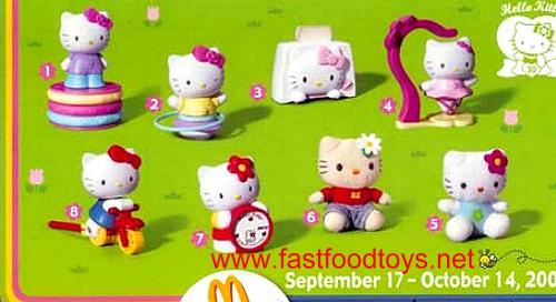Hello Kitty Mcdonald S Toys : Mcdonald s happy meal toys u hello kitty u kids time