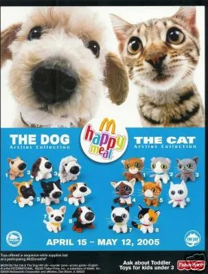2005-The-cats-and-dogs-toys-mcdonalds-happy-meal-toys