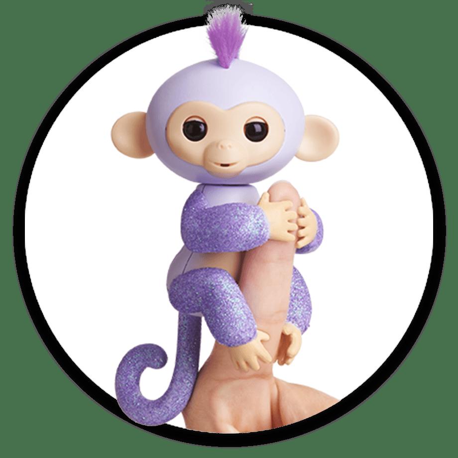 Fingerlings by WowWee Glitter Monkeys – Kiki – Kids Time 3c03d078e372