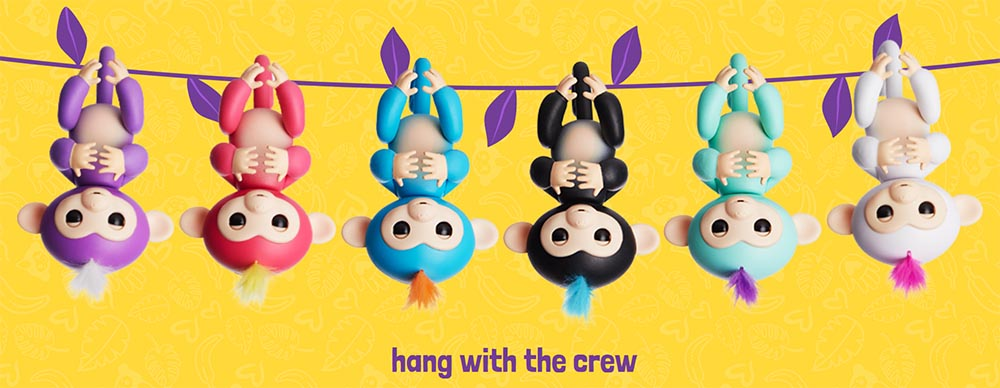 Fingerlings By Wowwee Monkey S Friendship At Your