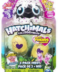 Hatchimals CollEGGtibles Season 3 - 2 Pack Plus Nest