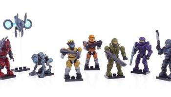 Mega Bloks Halo Micro Action Figures Series 6 Blind Bags Packs Codes