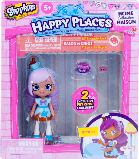 Shopkins Happy Places Season 1 - Lil' Shoppie Pack Kirstea