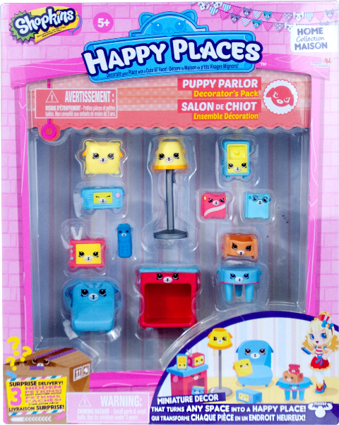 Shopkins Happy Places Season 1 - Puppy Parlor Decorator's Pack
