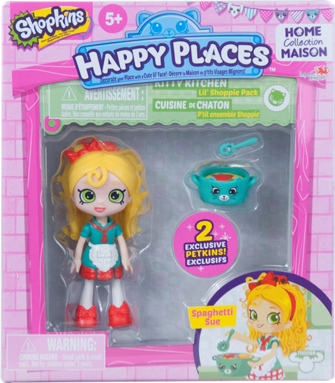 Shopkins Happy Places Season 1 - Lil' Shoppie Pack Spaghetti Sue