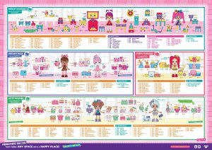 Shopkins Happy Places Season 2 Checklist 2 of 2