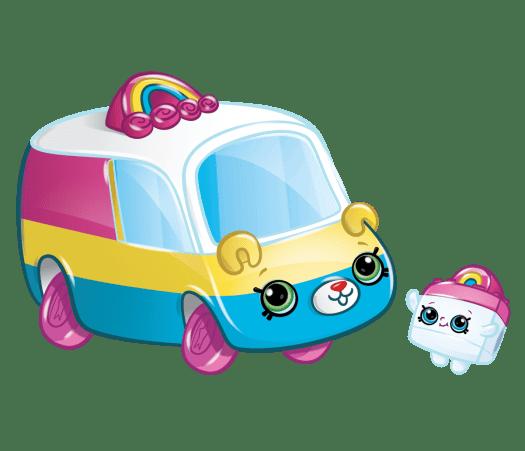 Shopkins Season 1 - Cutie Cars - Rainbow Rider Speedy SUV