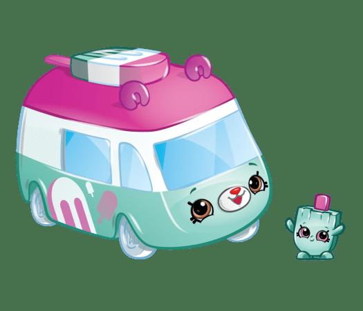 Shopkins Season 1 - Cutie Cars - Zippy Popsicle Fun Food Van